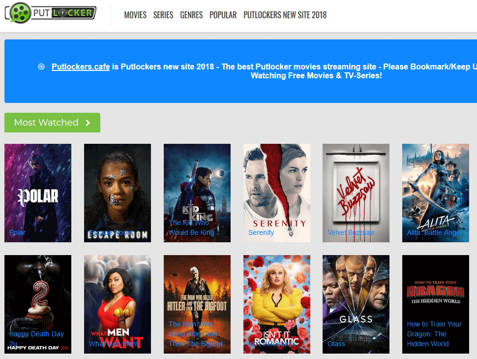 putlocker café putlocker alternativ