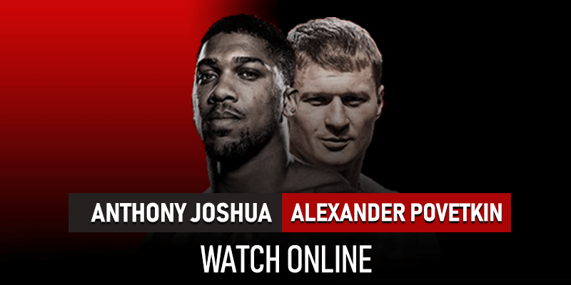 anthony joshua v alexander povetkin live streaming