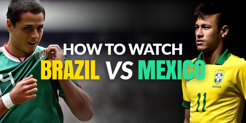 watch brazil vs mexico live online