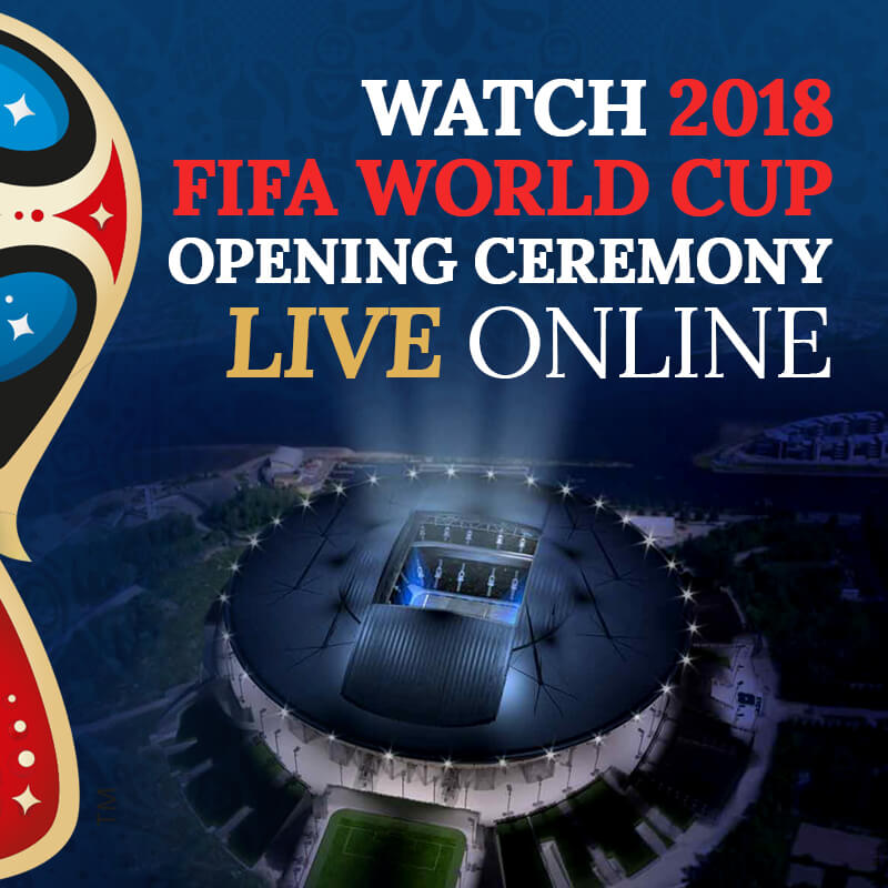 se FIFA World Cup 2018 öppningsceremoni