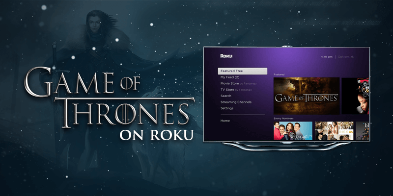watch game of thrones season 8 on roku