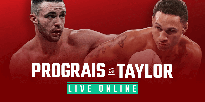 Assista Prograis vs Taylor ao vivo on-line