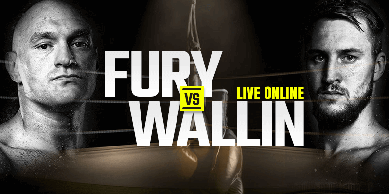 Tonton Fury vs Wallin Live Online