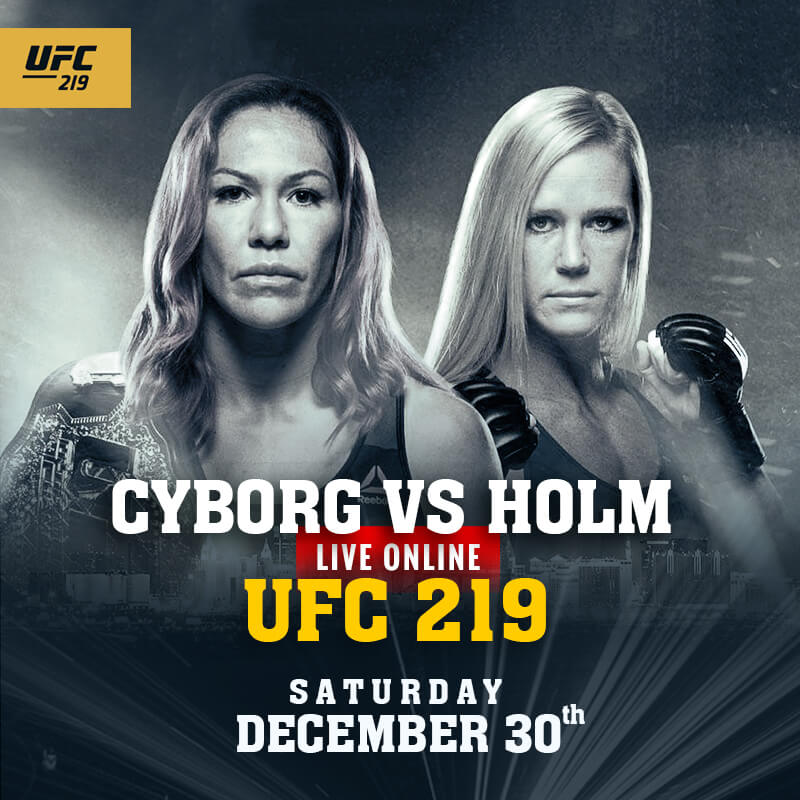 UFC 219 Live streaming