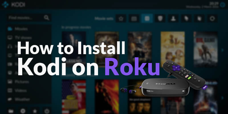 how to install kodi on roku